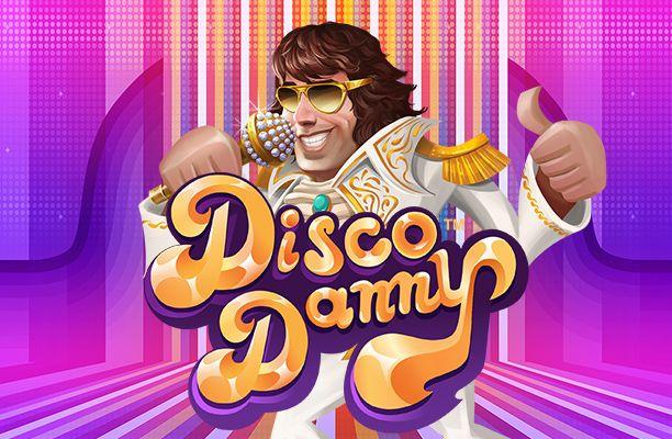 Disco Danny slot review netent logo
