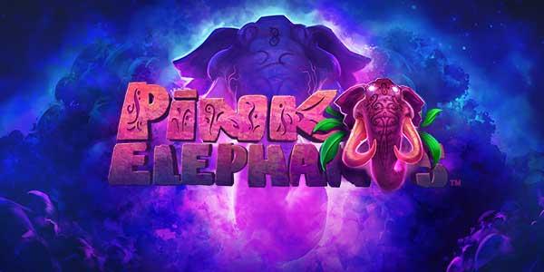 Pink elephants thunderkick logo