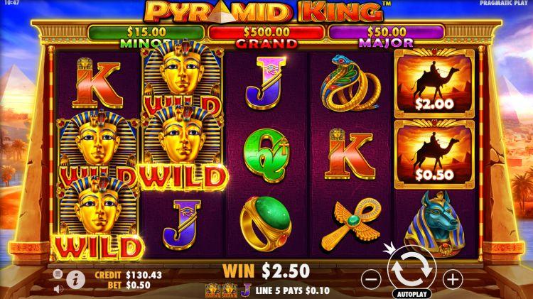 Pyramid King review pragmatic play