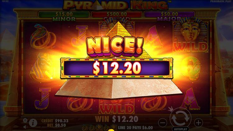 Pyramid King slot review pragmatic play win