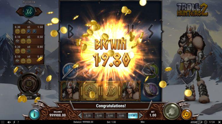Troll Hunters 2 slot review play n go big win