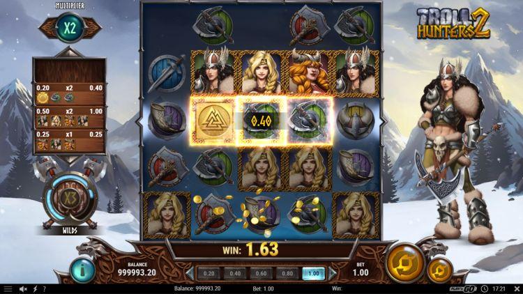 Troll Hunters 2 slot review play n go