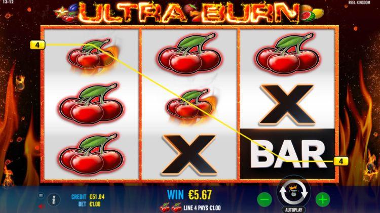Ultra Burn slot review win