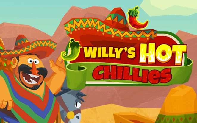 Willy's Hot Chillies slot netent