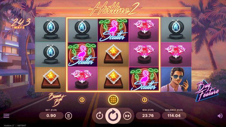 hotline 2 slot bonus trigger