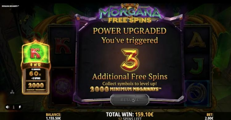 morgana megaways slot retrigger