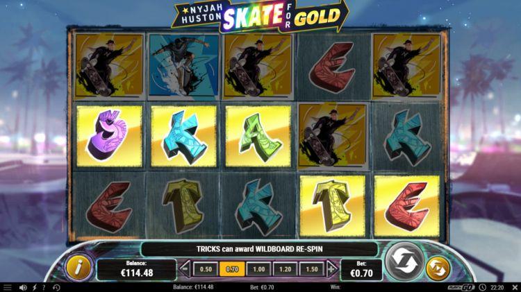 nyjah Huston skate-for-gold-bonus trigger