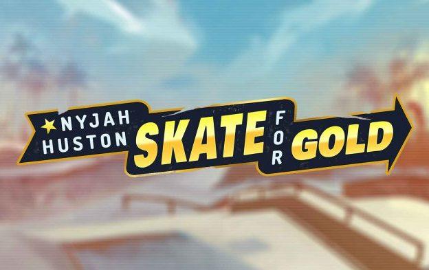 nyjah Huston skate-for-gold-play-n-go-logo