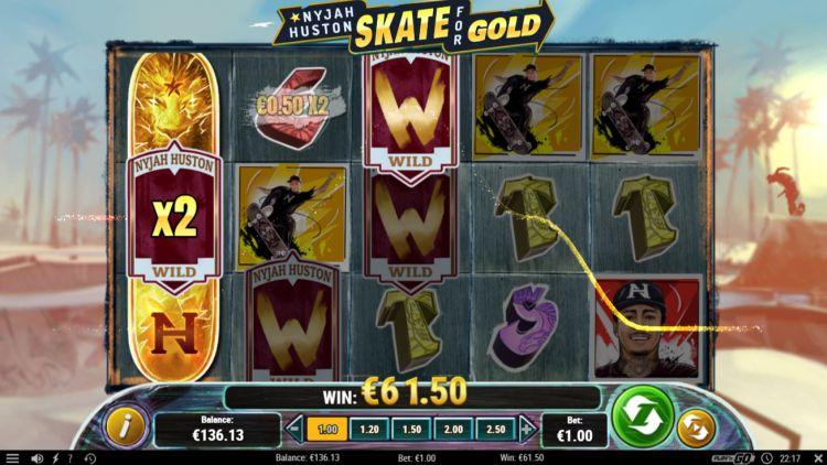 nyjah Huston skate-for-gold play n go