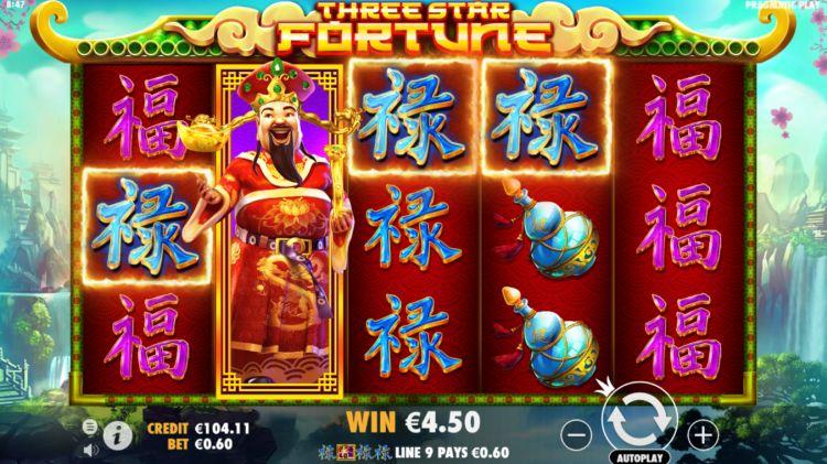 three star fortune pragmatic play review