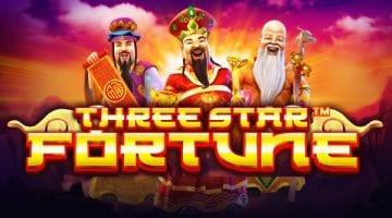 three star fortune slot pragmatic play logo