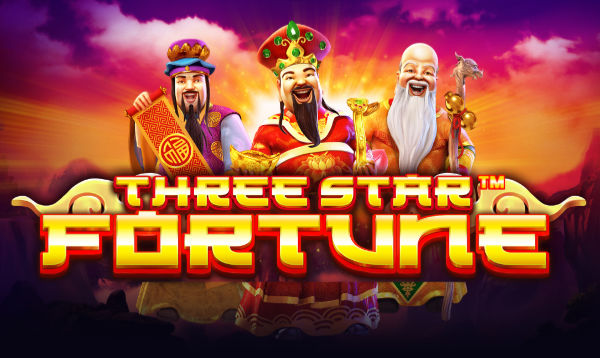 three star fortune slot pragmatic play logo