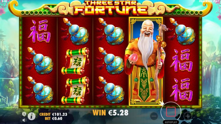 three star fortune slot pragmatic play review