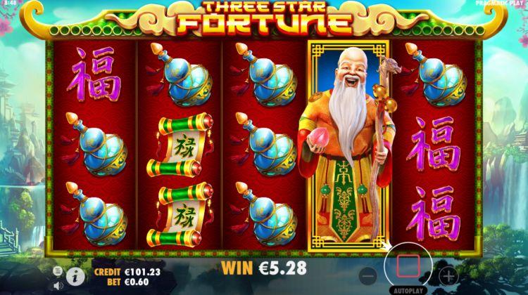 three star fortune slot pragmatic play review