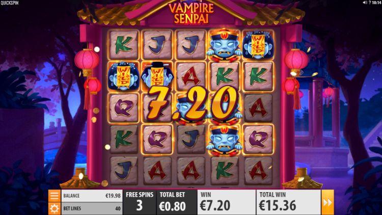 vampire-senpai-slot-quickspin bonus spins win