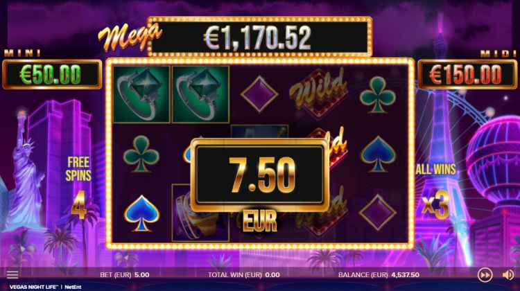 vegas-night-life-netent review free spins