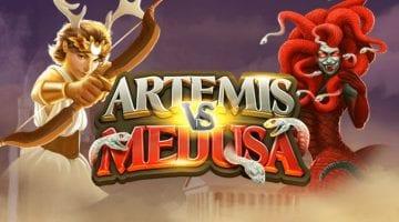Artemis vs Medusa slot review quickspin logo