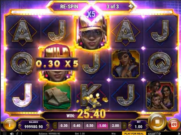 Blinged slot play n go review