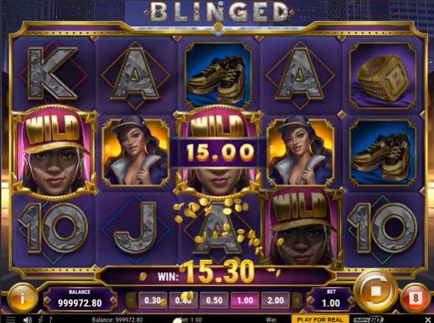 Blinged slot review play n go slot