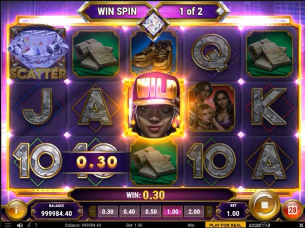 Blinged slot review play n go win spin
