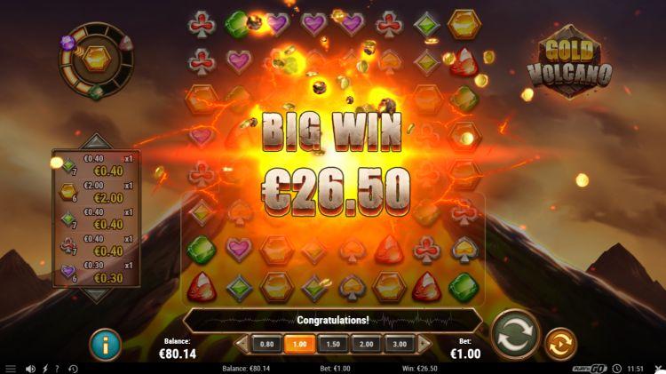 Gold Vulcano review play n go