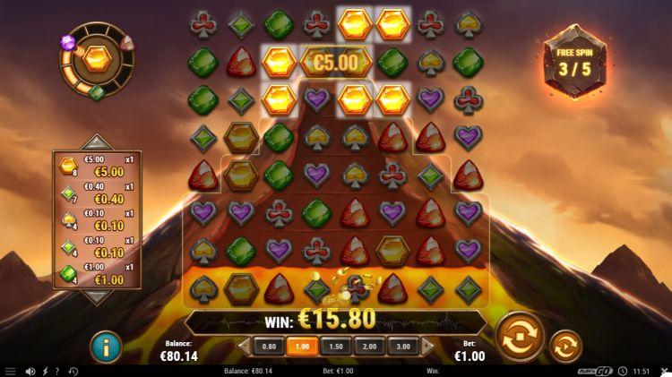 Gold Vulcano slot review win