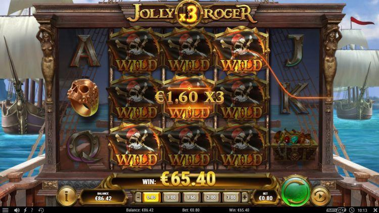 Jolly roger 2 play n go big win