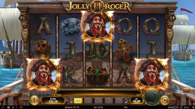 Jolly roger 2 play n go bonus trigger