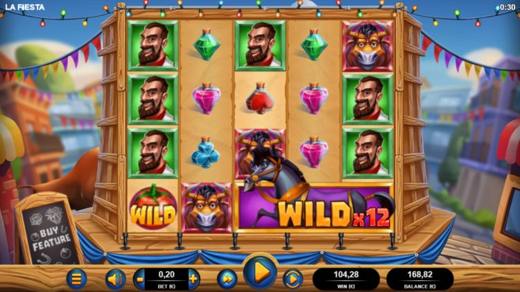 La fiesta slot review bonus big win bonus 520 x bet