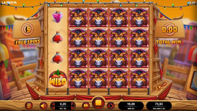 La fiesta slot review bonus big win
