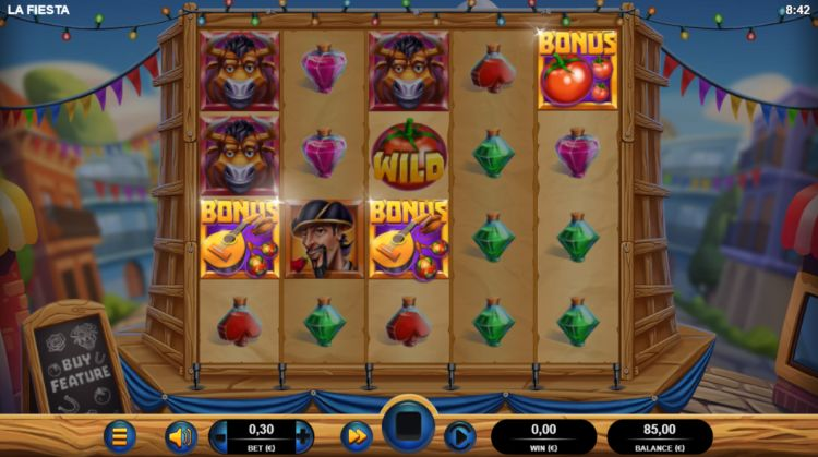 La fiesta slot review bonus trigger