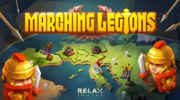 Marching-Legions-slot review logo relax gaming