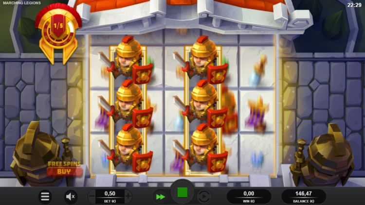 Marching-Legions-slot review relax gaming