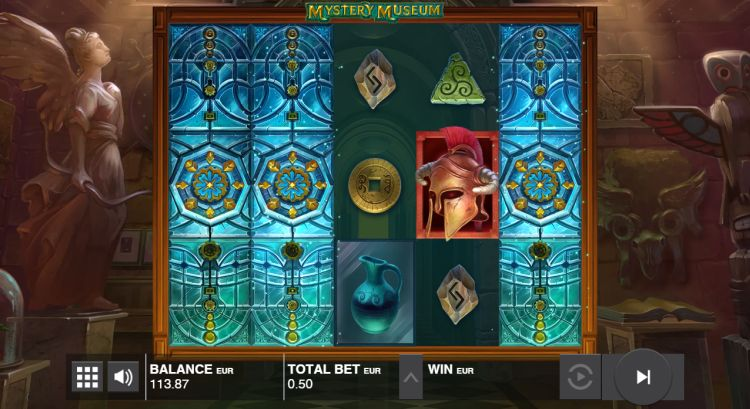 Mystery museum slot review feature