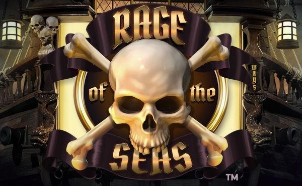 Rage of the seas slot logo