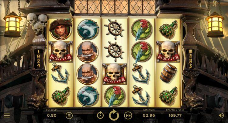 Rage of the seas slot netent bonus