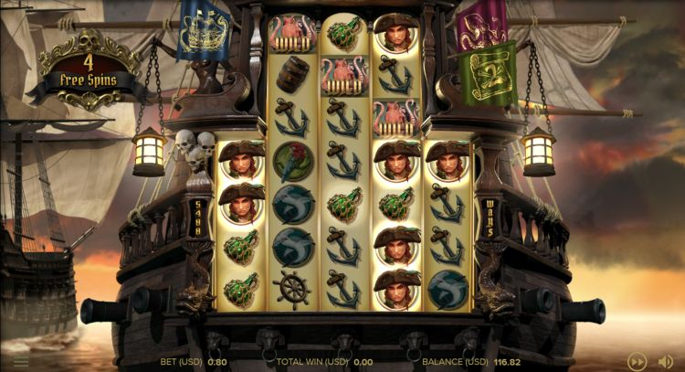 Rage of the seas slot netent free spins