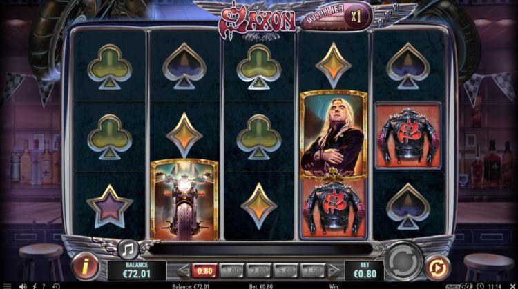 Saxon slot review bonus trigger