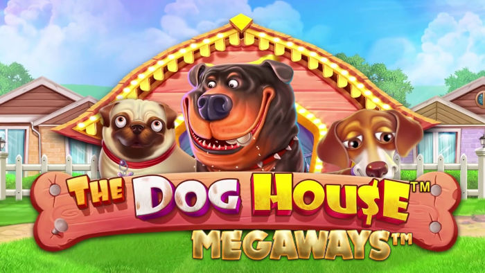 the-dog-house-megaways slot review logo
