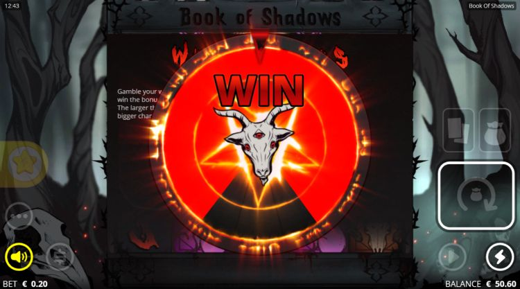 Book of shadows slot review gamble
