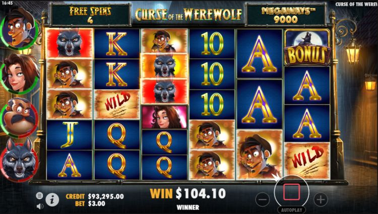 Curse-of-the-Werewolf-Megaways-Slot free spins