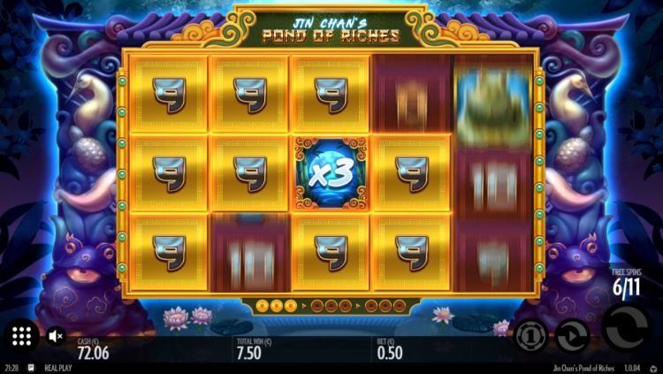 Jin Chans Pond of Riches slot review bonus spin