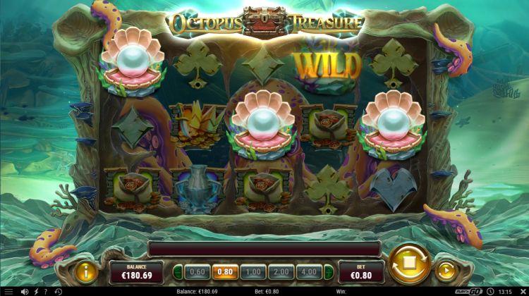 Octopus treasure slot review bonus trigger
