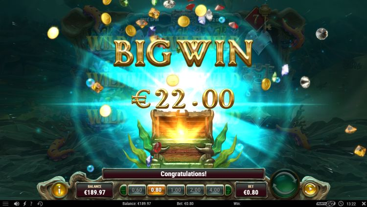 Octopus treasure slot review play'n go big win