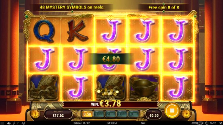 Temple of wealth review free spins