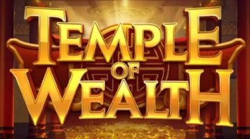 Temple of wealth slot review logo