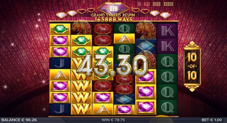 The Grand Galore slot bonus win