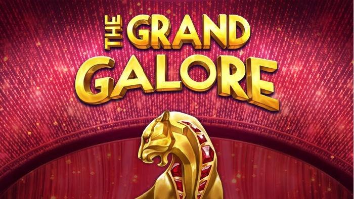 The Grand Galore slot logo
