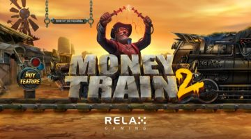money train 2 slot relax gaming logo
