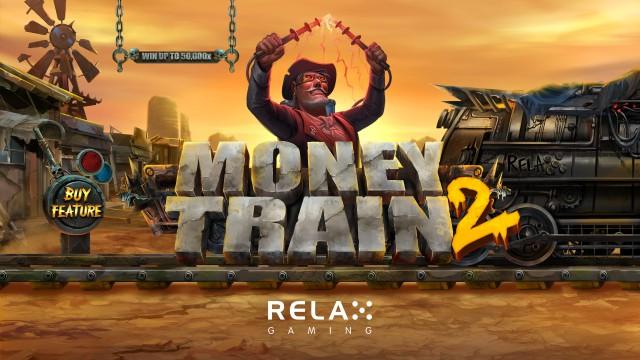 money train 2 slot relax gaming logo